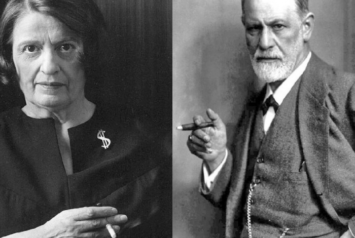 Os campeões do egoísmo: Ayn Rand, Freud e a psicanálise.