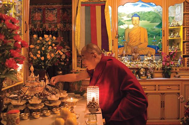 A prática do altar
