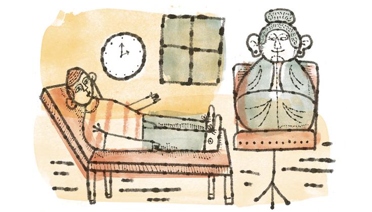 Qual a relação do budismo com a noção de terapia?